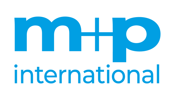LOGO_m+p_international_cyan_72dpi
